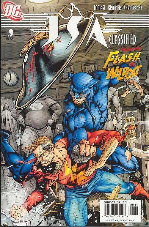 2006 w// Flash and Wild Cat File Photo DC Comics  JSA Classified  #9