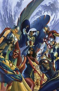 ALL NEW ALL DIFFERENT AVENGERS #1 BY ROSS POSTER
