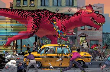MOON GIRL AND DEVIL DINOSAUR #11 BY REEDER POSTER