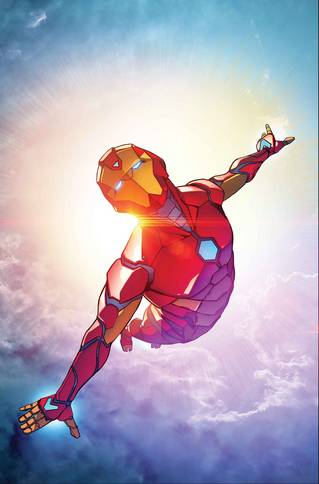 INVINCIBLE IRON MAN BY CASELLI POSTER