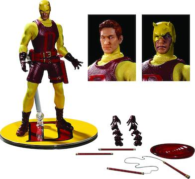 ONE-12 COLLECTIVE MARVEL PX YELLOW DAREDEVIL AF (NET) (C: 1-