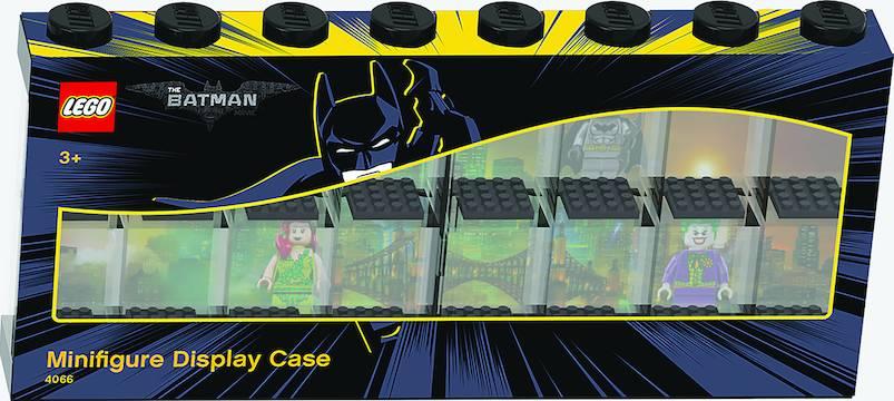 LEGO BATMAN MINIFIGURE DISPLAY CASE 16 BLACK (NET) (C: 1-1-1