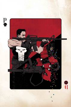 DEADPOOL VS PUNISHER #1 BY SHALVEY POSTER