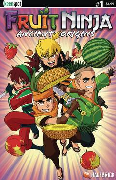"FRUIT NINJA ANCIENT ORIGINS #1 CVR A MAIN COVER REMY ""EISU"""