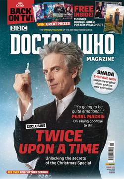 DOCTOR WHO MAGAZINE #525 (C: 0-1-2)