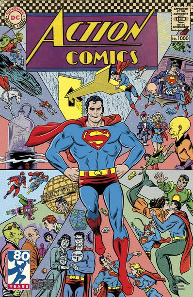 ACTION COMICS #1000 1960S VAR ED