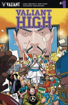 VALIANT HIGH #1 (OF 4) CVR A LAFUENTE (NET)