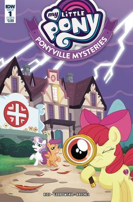 MY LITTLE PONY PONYVILLE MYSTERIES #1 CVR B MURPHY