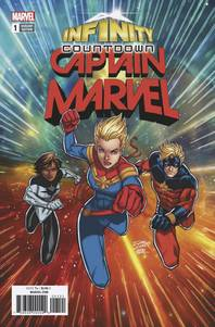 INFINITY COUNTDOWN CAPTAIN MARVEL #1 LIM VAR