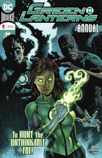 GREEN LANTERNS ANNUAL #1