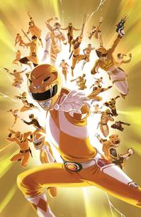 MIGHTY MORPHIN POWER RANGERS #28 25 COPY VILLA INCV SG (NET)