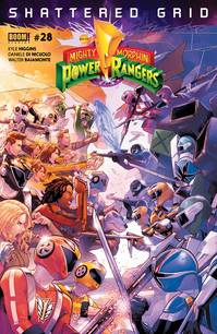 MIGHTY MORPHIN POWER RANGERS #28 MAIN SG (C: 1-0-0)