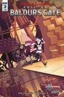 DUNGEONS & DRAGONS EVIL AT BALDURS GATE #3 CVR A DUNBAR