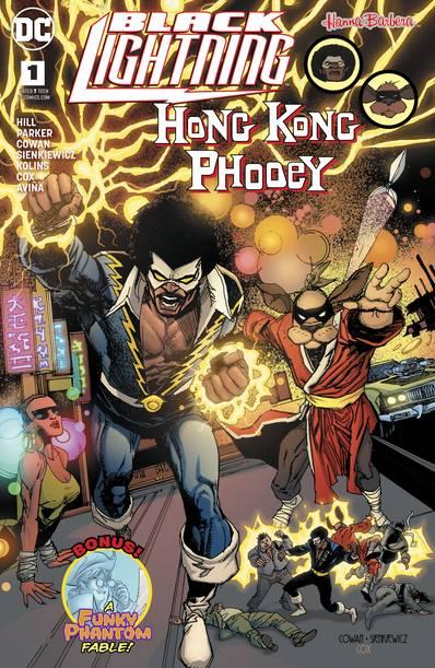 BLACK LIGHTNING HONG KONG PHOOEY SPECIAL #1