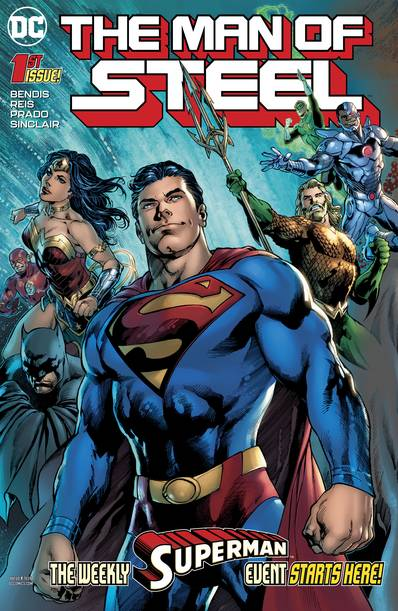 MAN OF STEEL #1 (OF 6)