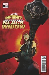 INFINITY COUNTDOWN BLACK WIDOW #1 SEINKIEWICZ VAR