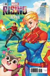 MARVEL RISING ALPHA #1 GONZALES CONNECTING VAR