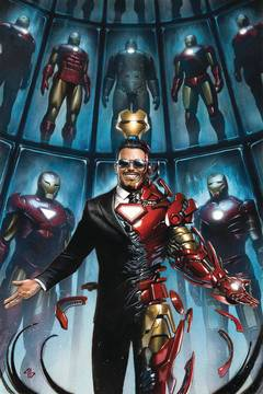 TONY STARK IRON MAN #1 GRANOV VAR