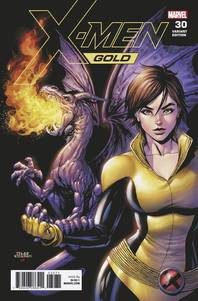 X-MEN GOLD #30 KIRKHAM KITTY PRYDE VAR