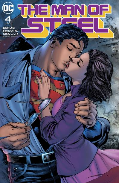 MAN OF STEEL #4 (OF 6)
