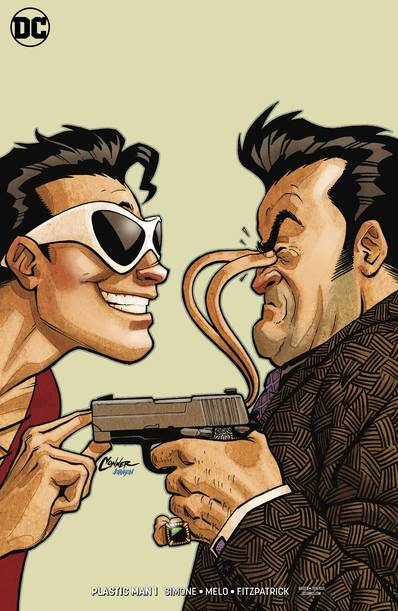 PLASTIC MAN #1 (OF 6) VAR ED