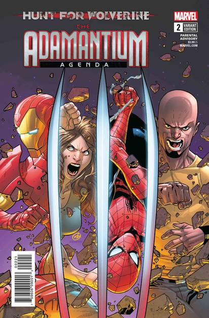 HUNT FOR WOLVERINE ADAMANTIUM AGENDA #2 (OF 4) SILVA VAR