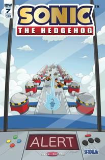 SONIC THE HEDGEHOG #7 FOIL CVR A GATES (C: 1-0-0)