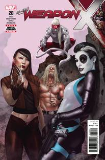 WEAPON X #20