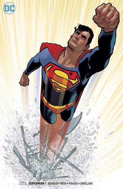 SUPERMAN #1 HUGHES VAR ED