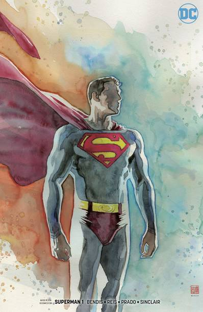 SUPERMAN #1 MACK VAR ED