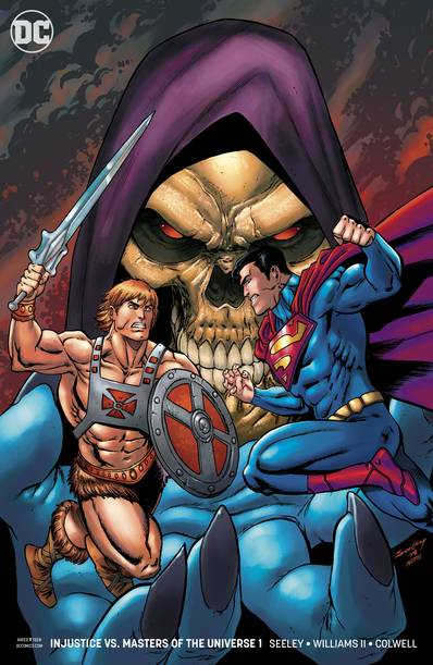 INJUSTICE VS THE MASTERS OF THE UNIVERSE #1 (OF 6) VAR ED