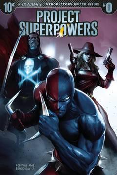 PROJECT SUPERPOWERS #0 CVR A MATTINA