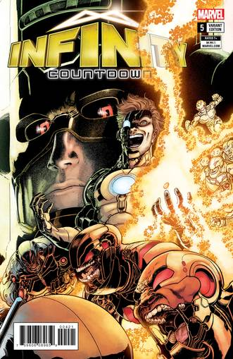 INFINITY COUNTDOWN #5 (OF 5) KUDER CONNECTING VAR