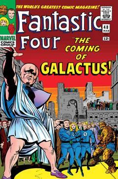 TRUE BELIEVERS FANTASTIC FOUR COMING OF GALACTUS #1
