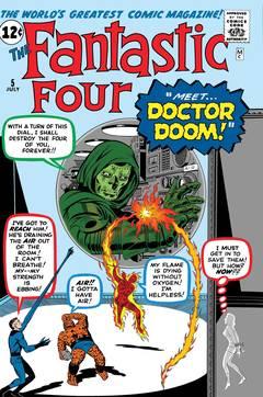 TRUE BELIEVERS FANTASTIC FOUR VS DOCTOR DOOM #1