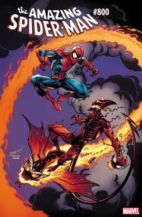 AMAZING SPIDER-MAN #800 BAGLEY VAR LEG