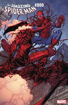 AMAZING SPIDER-MAN #800 BRADSHAW VAR LEG
