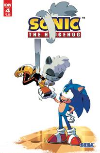 SONIC THE HEDGEHOG #4 2ND PTG (C: 1-0-0)