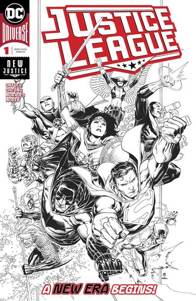 JUSTICE LEAGUE #1 JIM CHEUNG INKS ONLY VAR ED