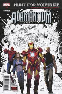 HUNT FOR WOLVERINE ADAMANTIUM AGENDA #1 (OF 4) 2ND PTG SILVA