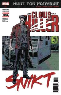 HUNT FOR WOLVERINE CLAWS OF KILLER #1 (OF 4) 2ND PTG GUICE V