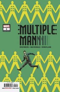 MULTIPLE MAN #1 (OF 5) 2ND PTG MARTIN VAR