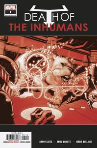 DEATH OF INHUMANS #1 (OF 5) 2ND PTG OLIVETTI VAR