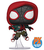 Pop! Marvel Into the Spiderverse Casual Miles Morales PX Vinyl Figure